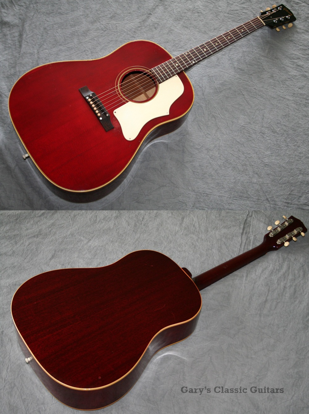 Value of gibson vintage acoustic guitars