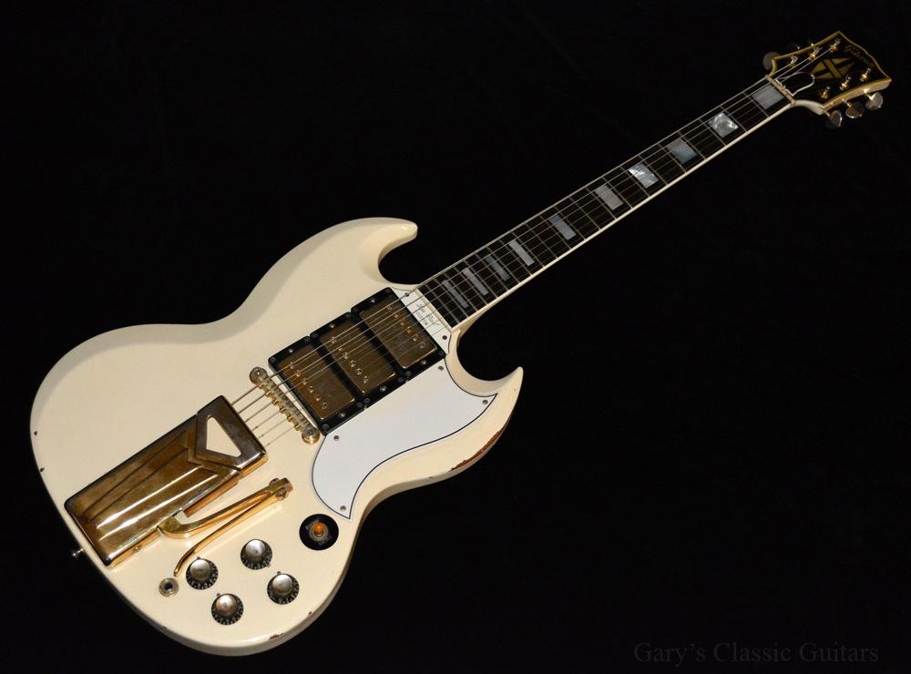 Les Paul Sg Custom : 1963 gibson sg les paul custom white gie0405 garys classic guitars vintage guitars ~ Hamham.info Haus und Dekorationen