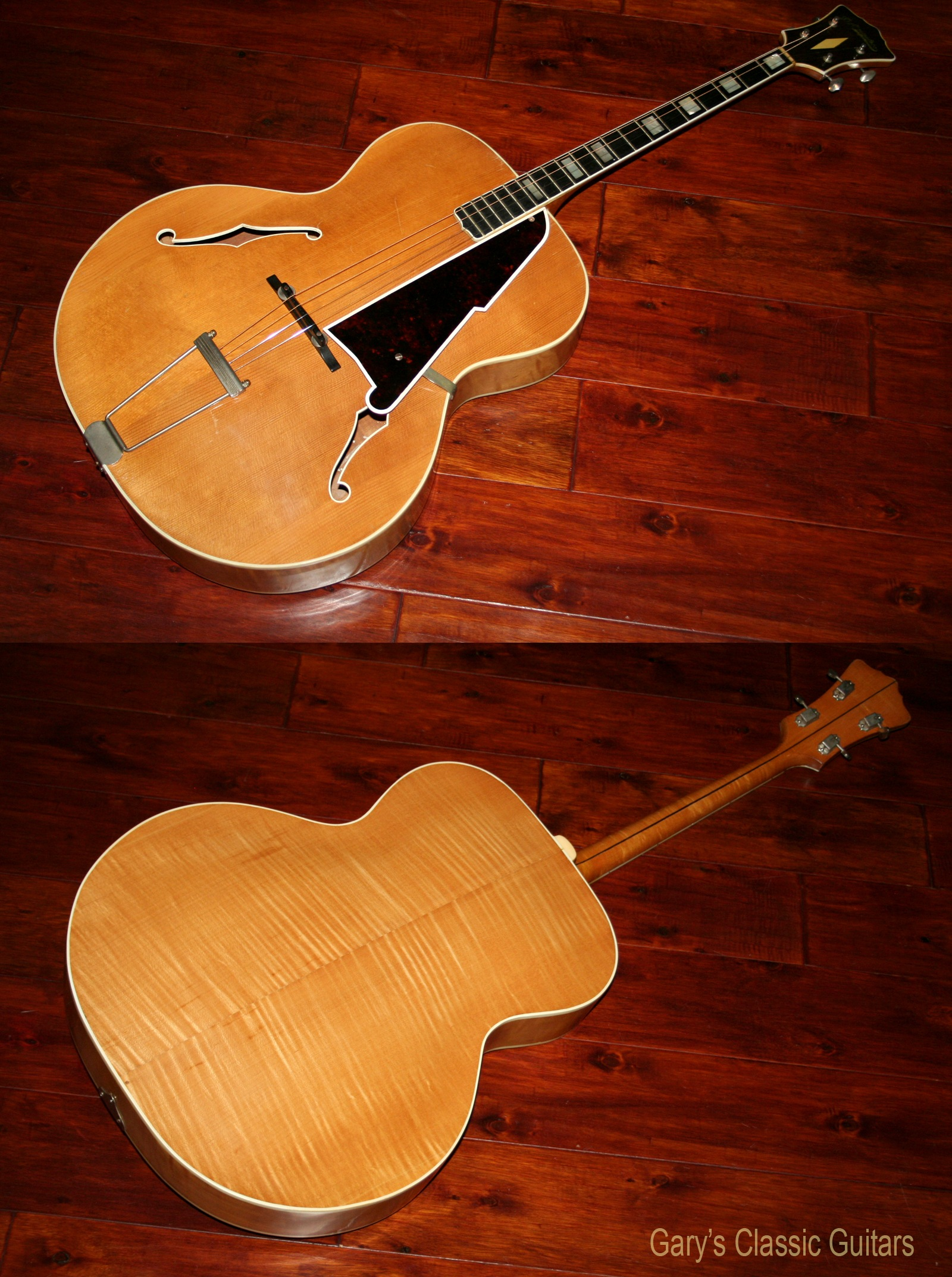 1947 D'Angelico Tenor archtop guitar | Garys Classic Guitars