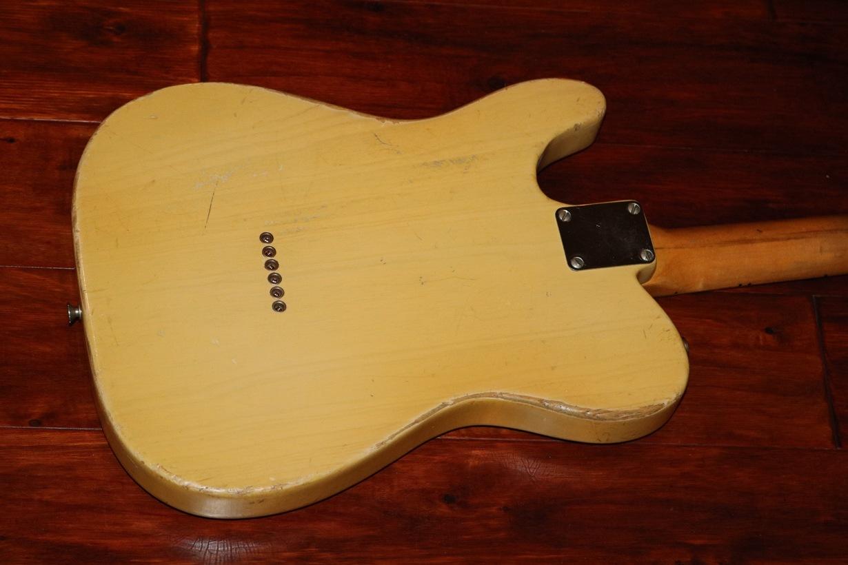 1951 fender nocaster garys classic guitars vintage guitars llc. Black Bedroom Furniture Sets. Home Design Ideas