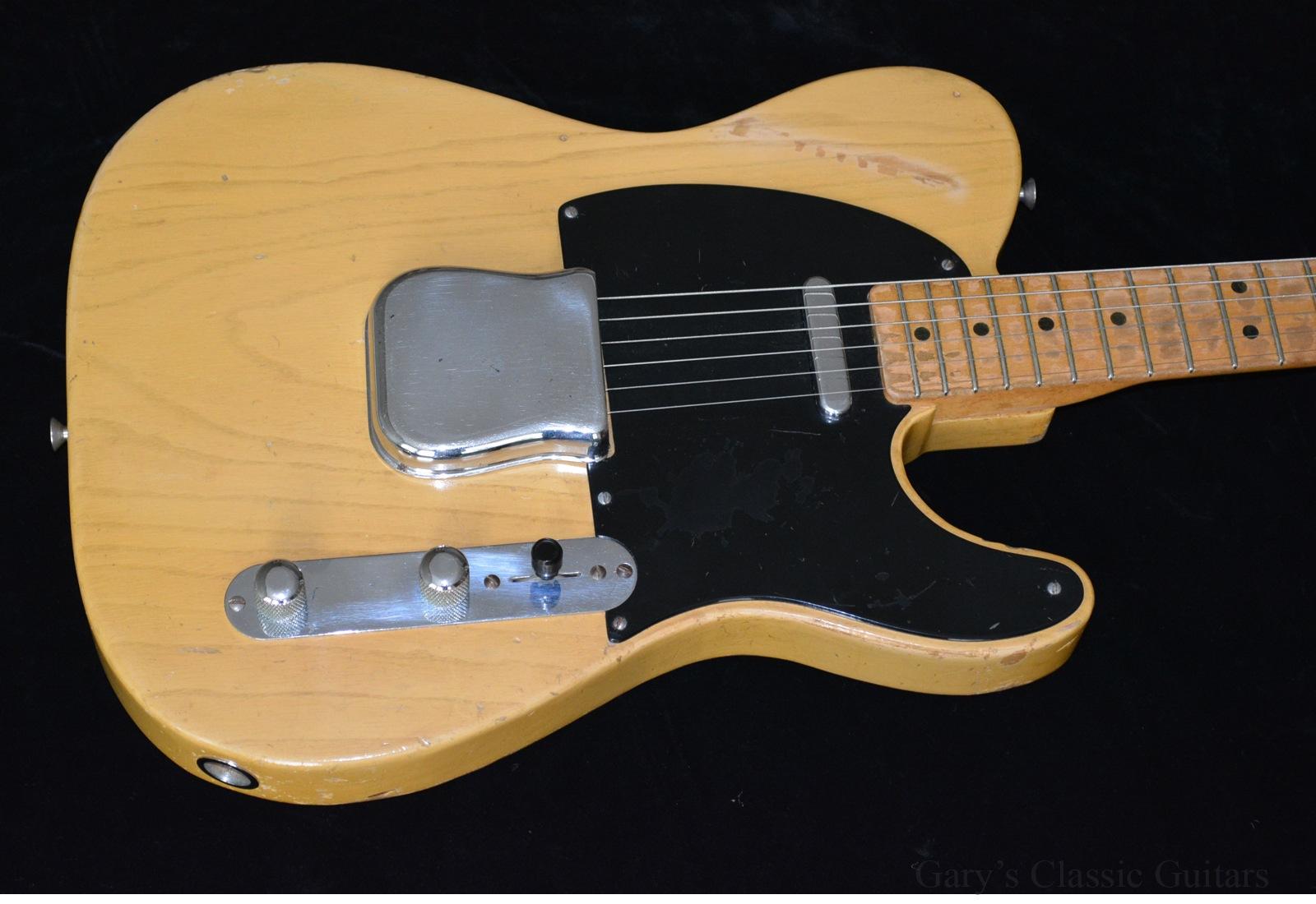 1951 fender nocaster butterscotch blonde garys classic guitars vintage guitars. Black Bedroom Furniture Sets. Home Design Ideas