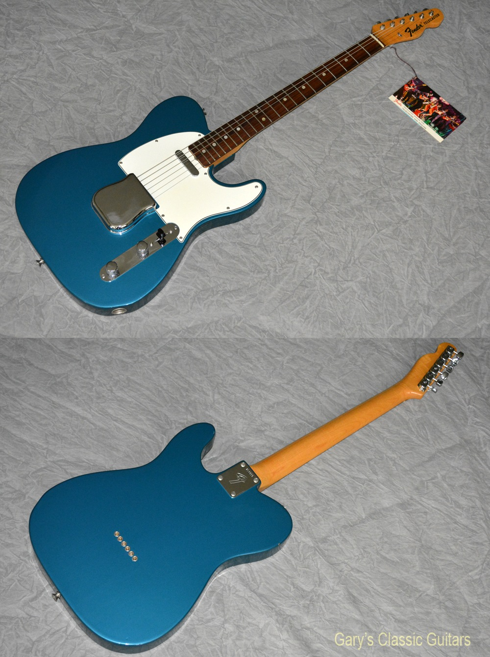 1968 fender telecaster lake placid blue fee0738 garys classic guitars vintage guitars llc. Black Bedroom Furniture Sets. Home Design Ideas