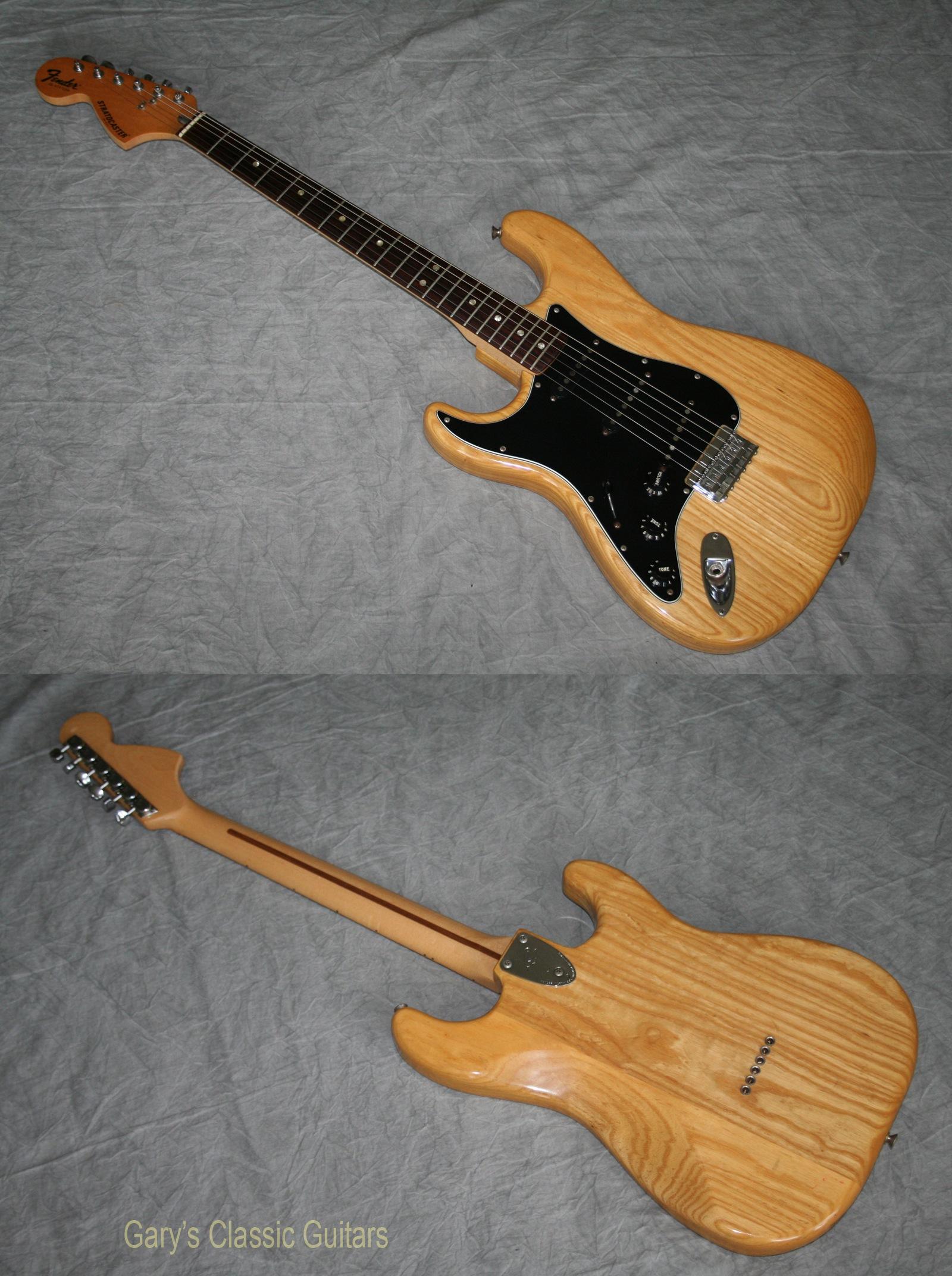 1977 fender stratocaster left handed model garys classic guitars vintage guitars llc. Black Bedroom Furniture Sets. Home Design Ideas