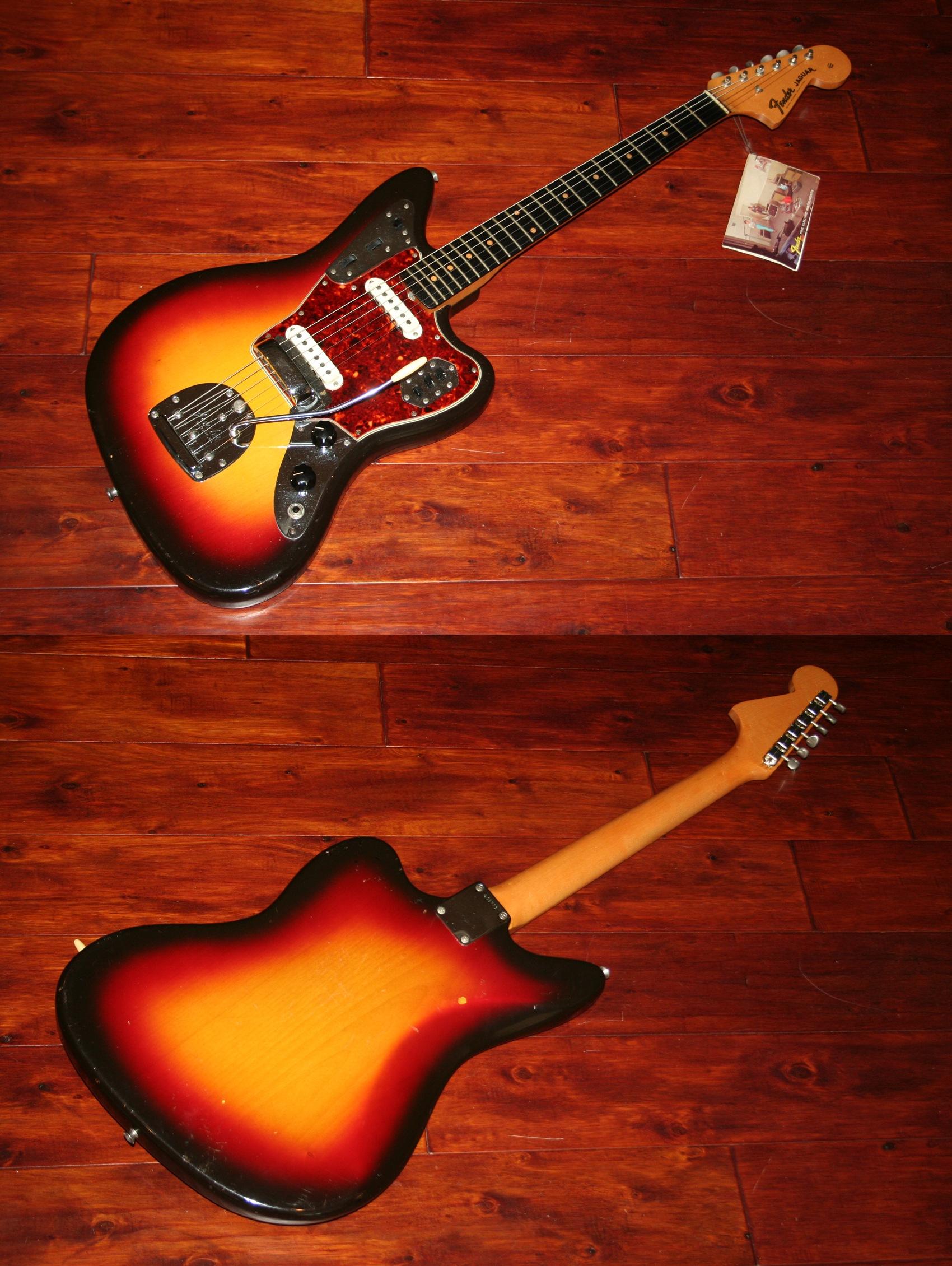 professional sonic jaguar imperial vintage american guitar electric guitars fender wohsc grey product