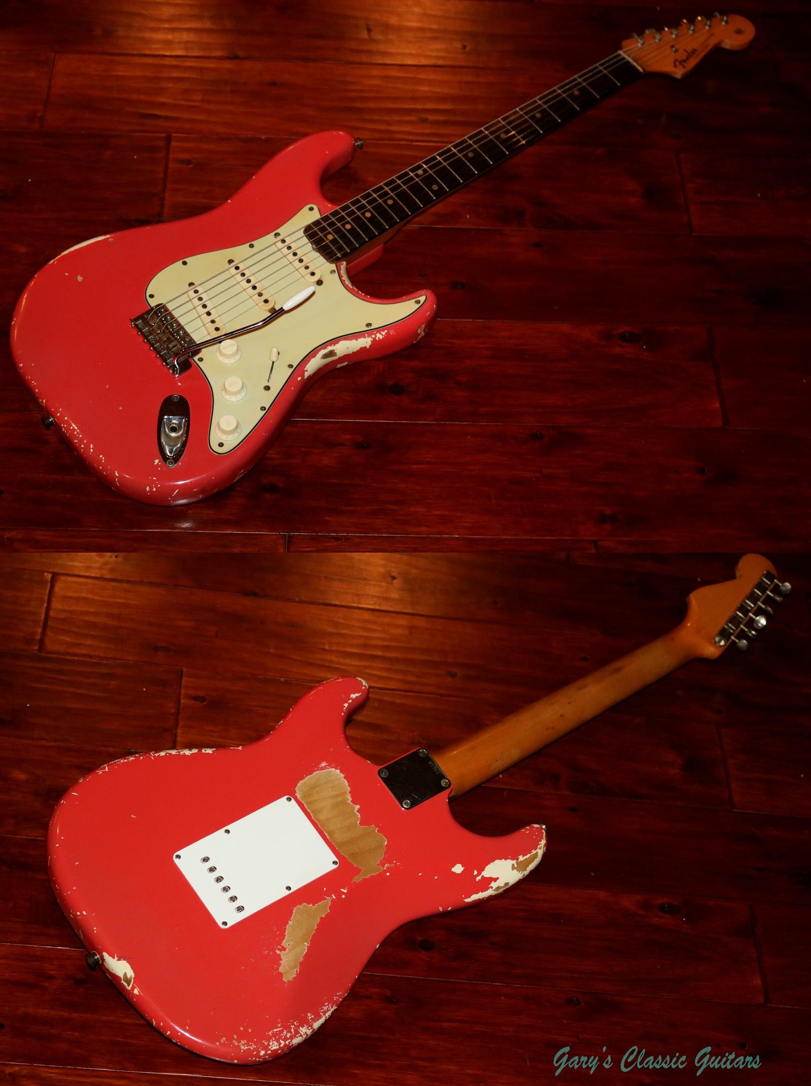 1963 Fender Stratocaster, Original Fiesta Red finish | Garys