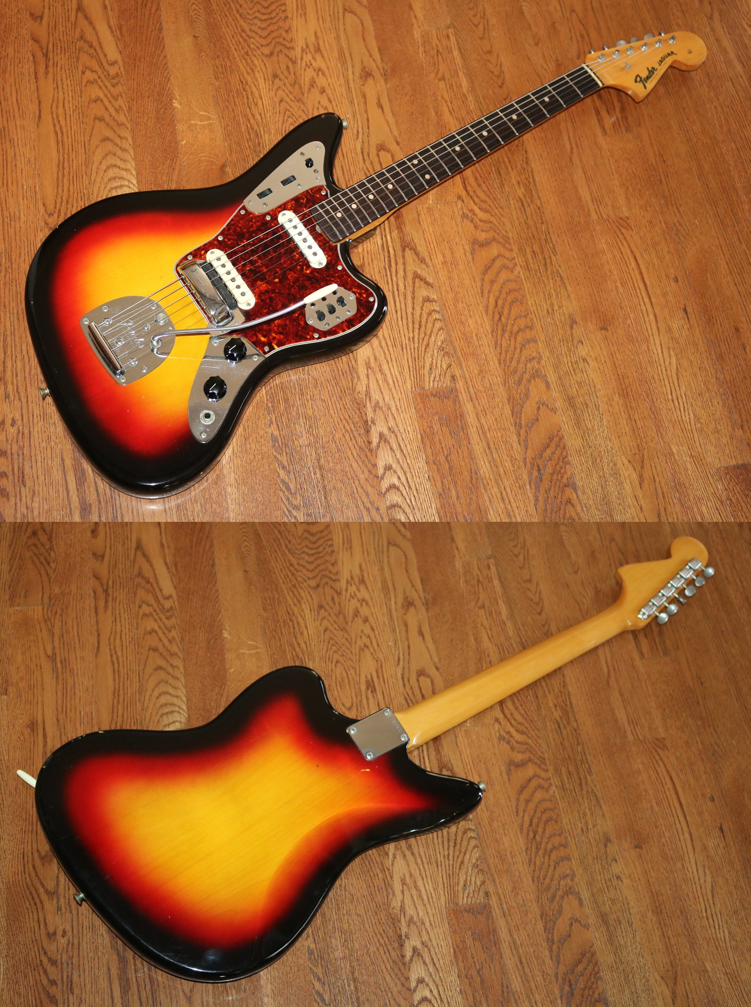 headstock black color inventory fender true matching custom jaguar guitar vintage