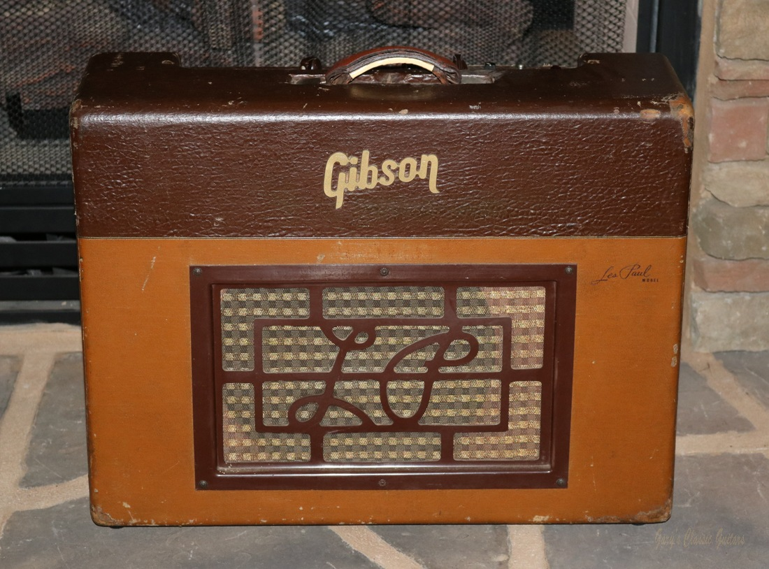 1950 s gibson ga 40 les paul amp garys classic guitars vintage guitars llc. Black Bedroom Furniture Sets. Home Design Ideas