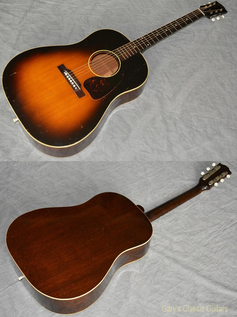 1950 gibson j 45 gia0455 garys classic guitars vintage guitars llc. Black Bedroom Furniture Sets. Home Design Ideas