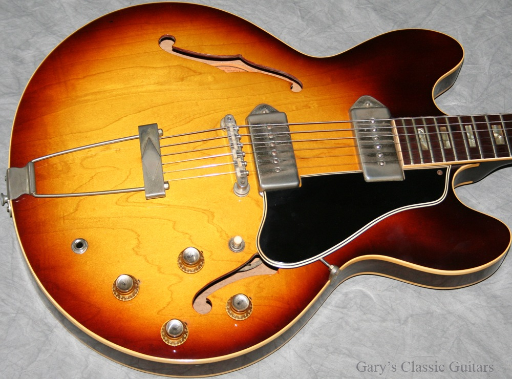 1964 gibson es 330 sold garys classic guitars vintage guitars llc. Black Bedroom Furniture Sets. Home Design Ideas