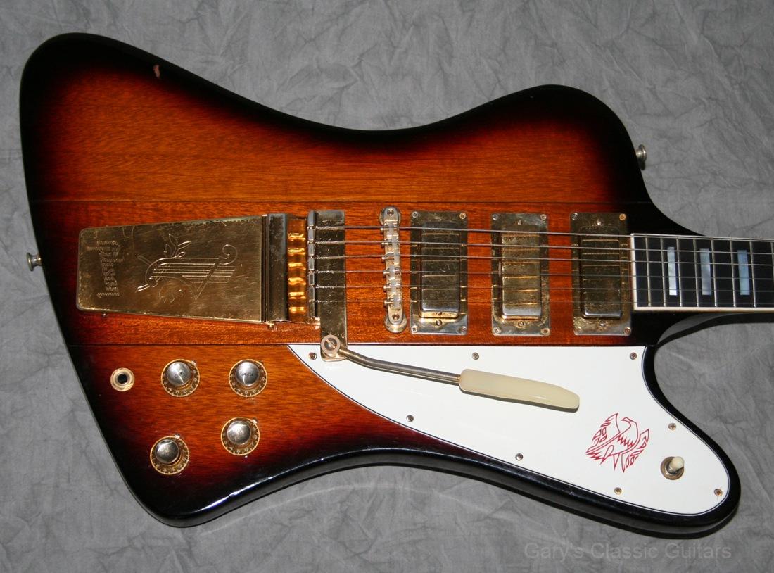 1963 gibson firebird vii garys classic guitars vintage. Black Bedroom Furniture Sets. Home Design Ideas
