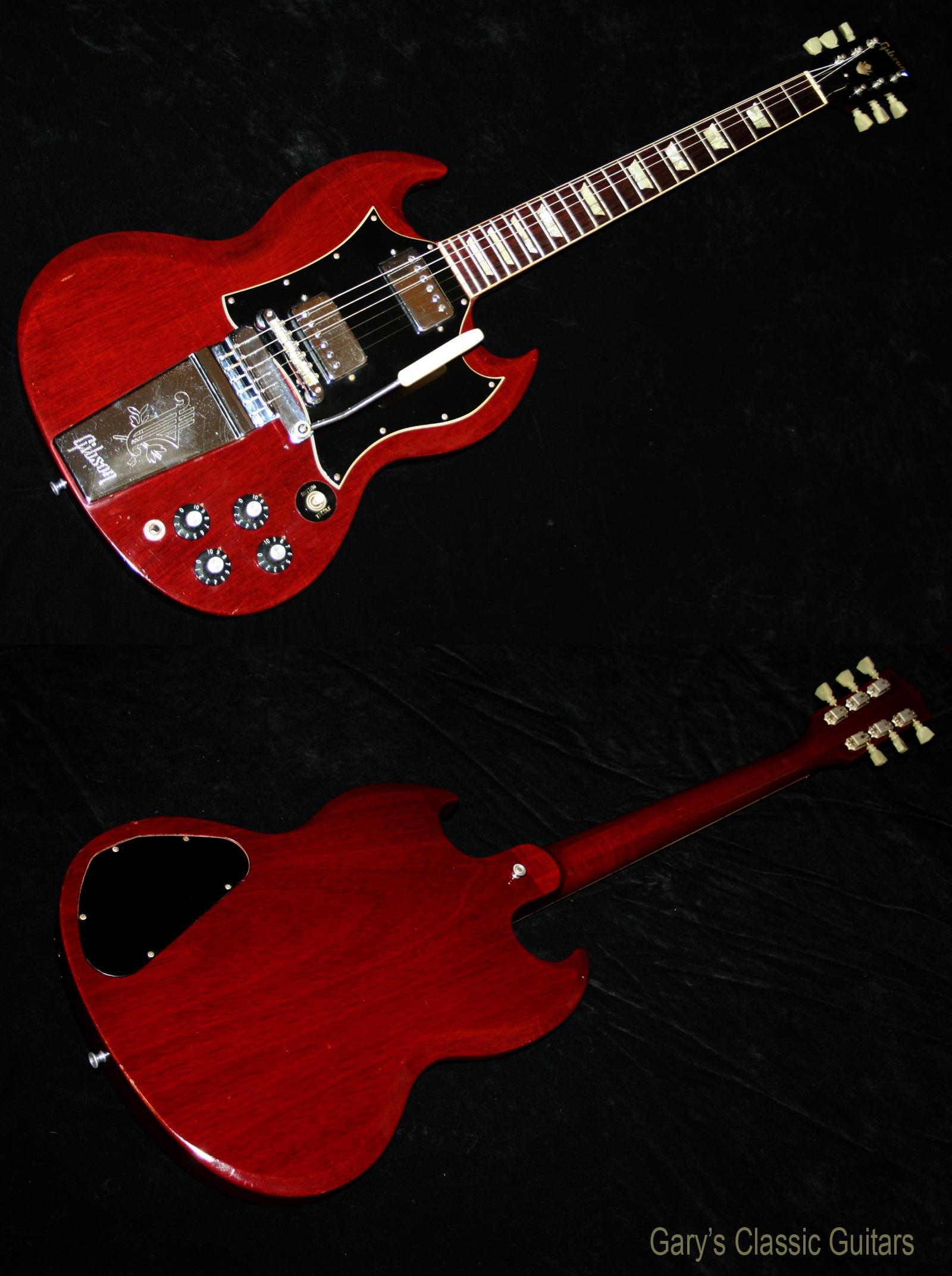 1969 gibson sg standard garys classic guitars vintage guitars llc