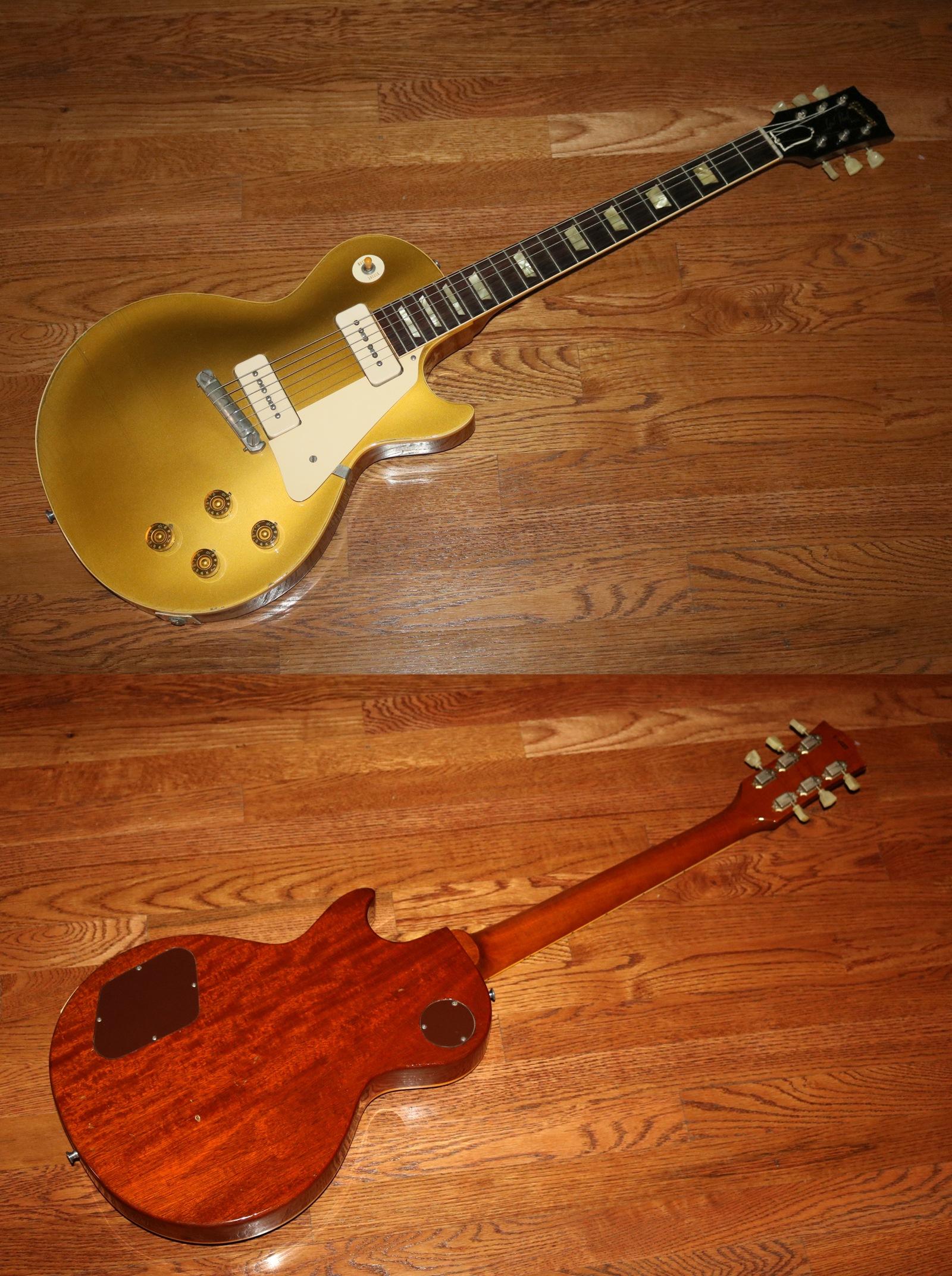 596d63678e85c0 1955 Gibson Les Paul Goldtop